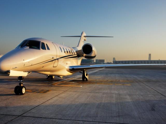 Cessna Citation X - the fastest operative civilian jet