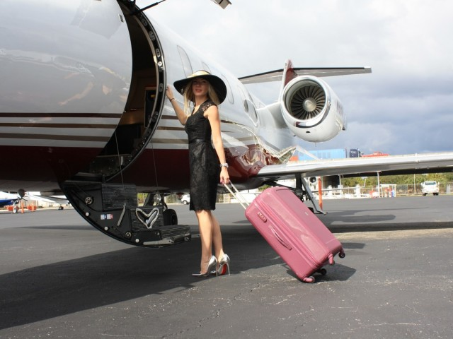 Chartering a Light Jet