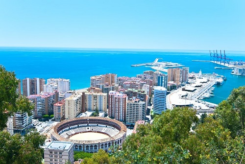 Malaga, Spain Private Jet Charter