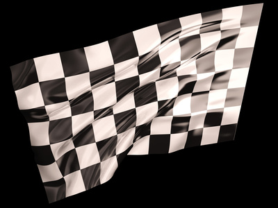 Indy 500 Finish flag