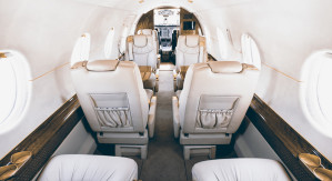 Hawker 400xp interior private jet charter