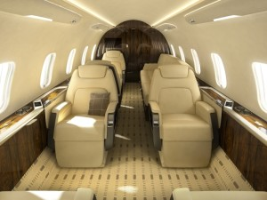 Challenger 350 interior 1 private jet charter