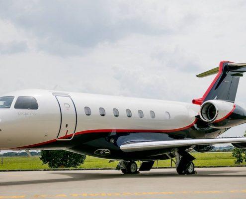 Embraer Legacy 500 jet charter