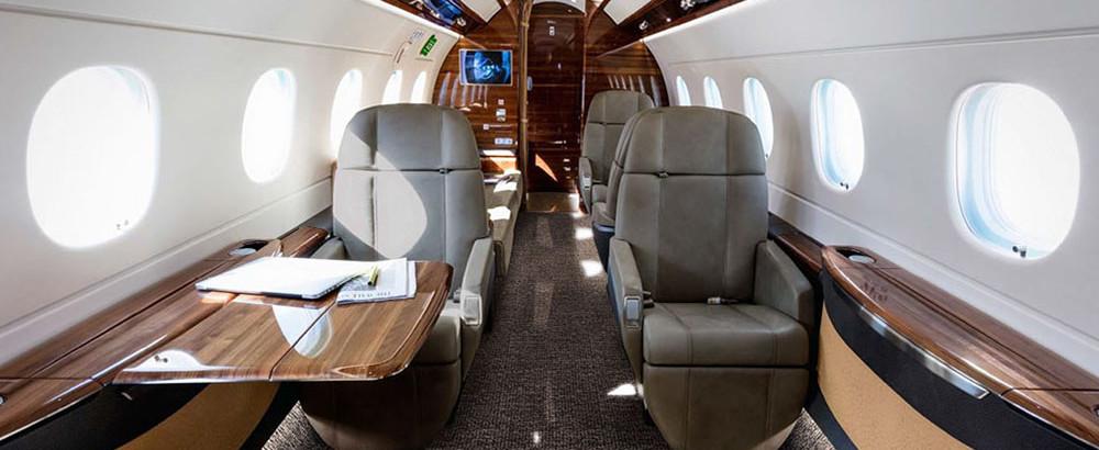Embraer Legacy 500 jet charter Interior