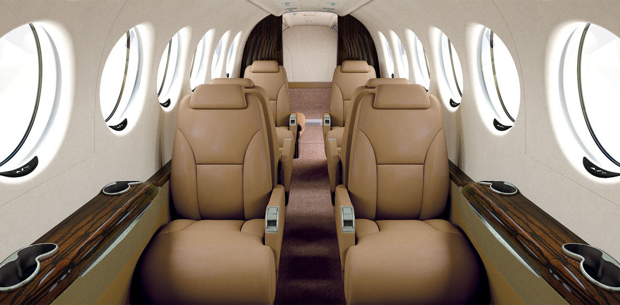 King Air 350i Interior