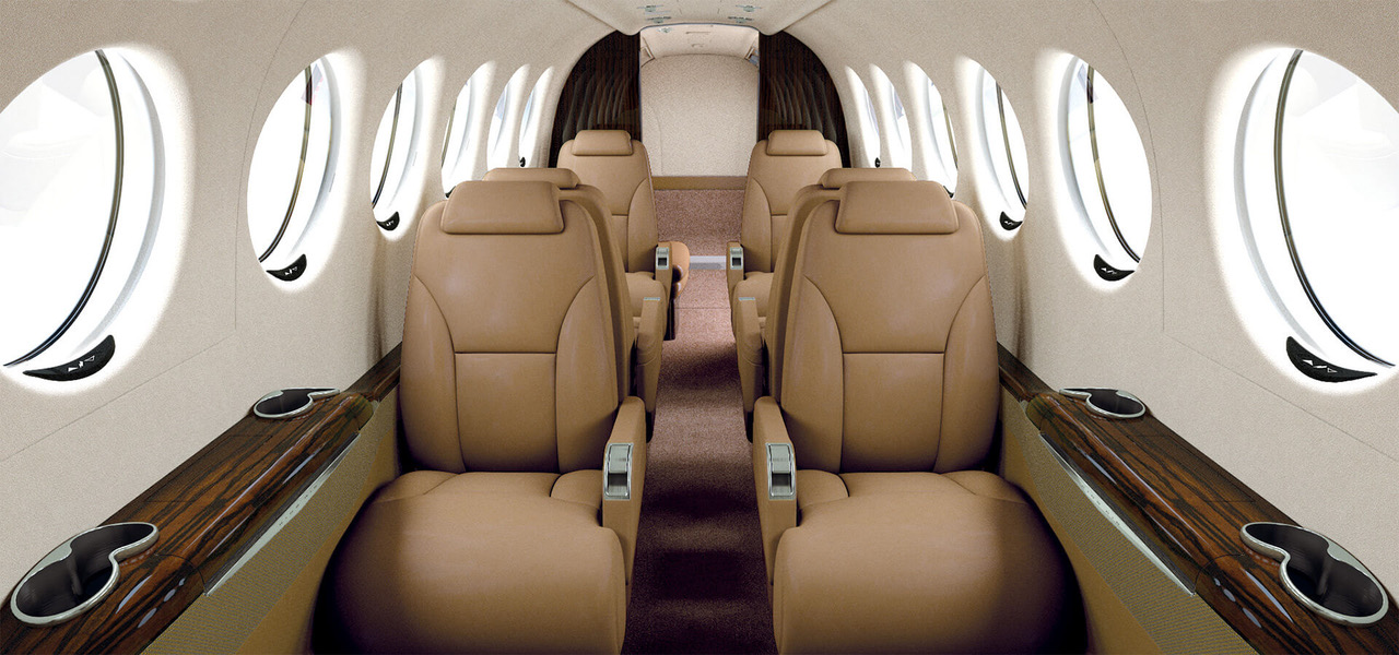 King Air 350i Interior