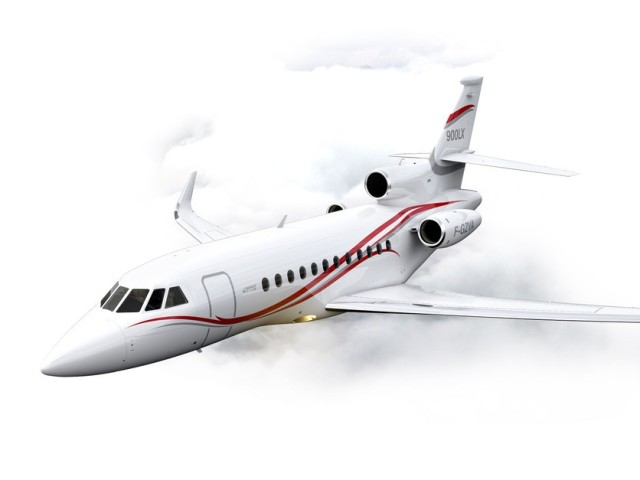 Private Jet Charter Falcon 900LX-Ext