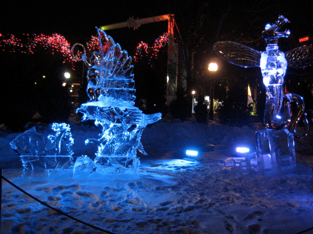 winterlude ice sculpture