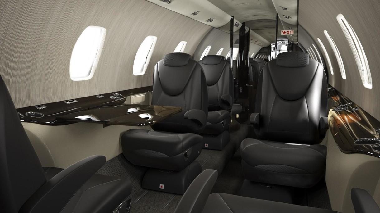 Cessna Citation XLS plus interior