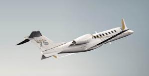 Learjet 75 Jet