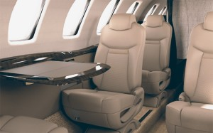citation cj4 interior private jet charter