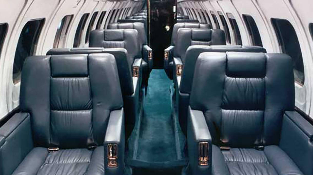 Jetstream 31 interior
