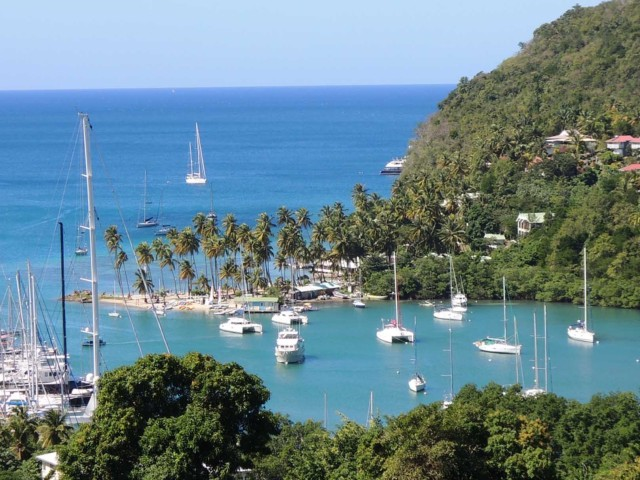 Charter A Private Jet to Saint Lucia for Your Summer Holiday