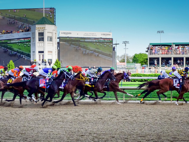 Horse racing - The Kentucky Derby Private Air Charter