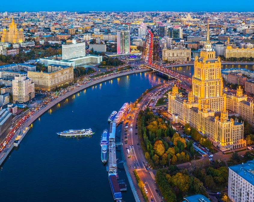 Moscow, Russia Private Jet Charter