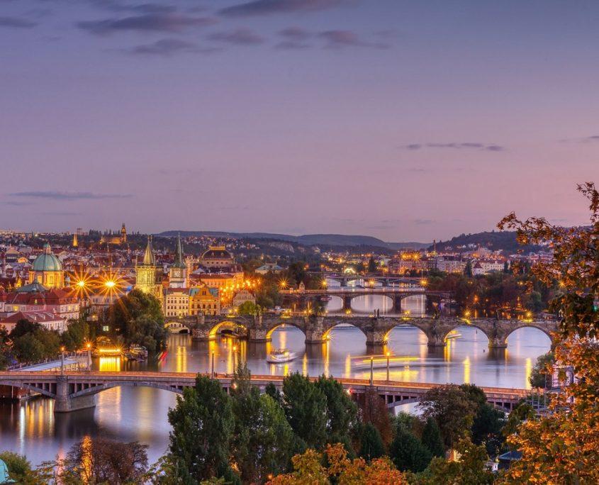 Prague, Czech Republic Private Jet Charter