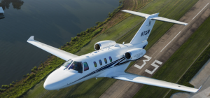 7 Lights Jets for Popular On-Demand Private Jet Charter Routes Cessna Citation M2