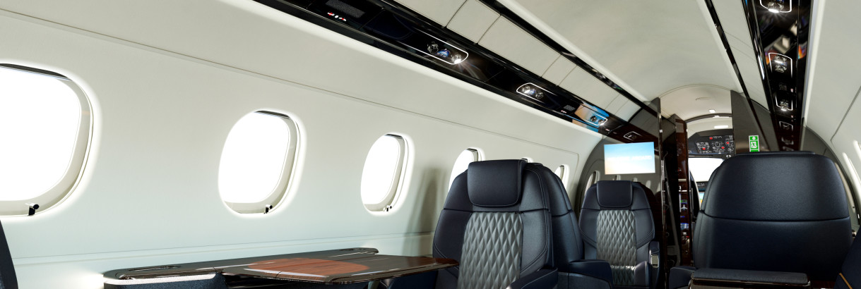 Embraer Legacy 450 New Seat Style