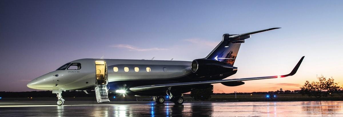 Embraer Legacy 450 Jet Charter