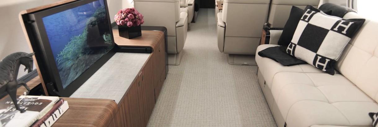 Interior Gulfstream G 650 ER