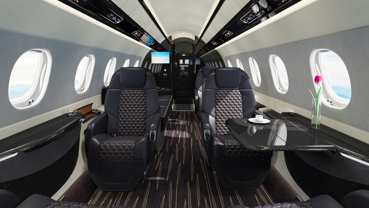 Convenience Features in Private Aircraft