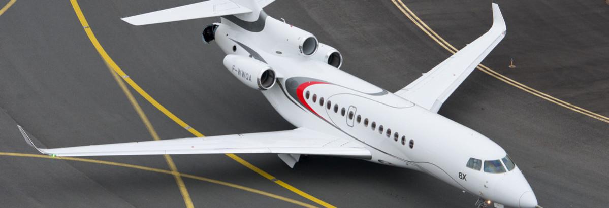 Private Jet Dassault Falcon 8x