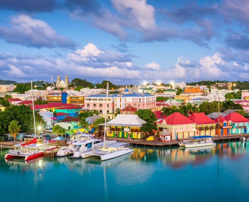 Antigua and Barbuda Private Jet Charter