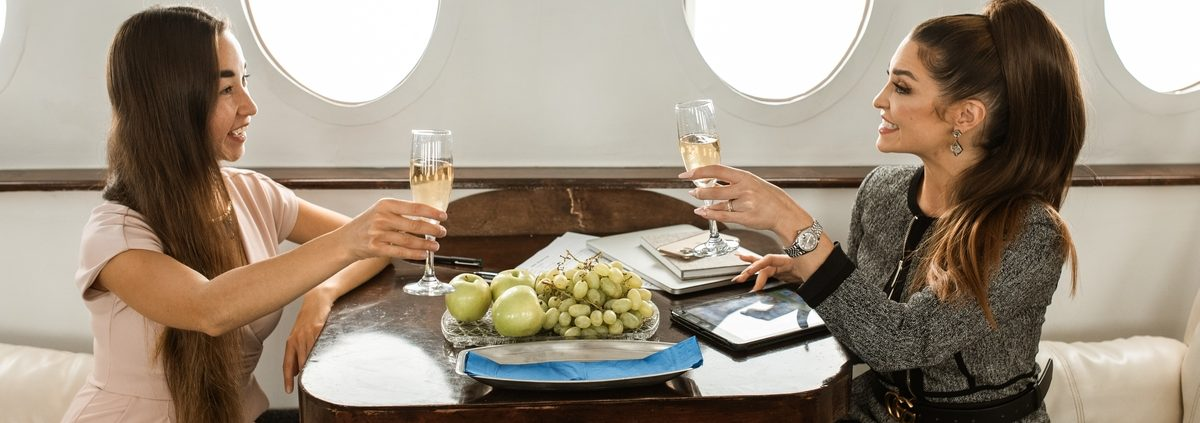 Chartering a Private Jet for Group Travel