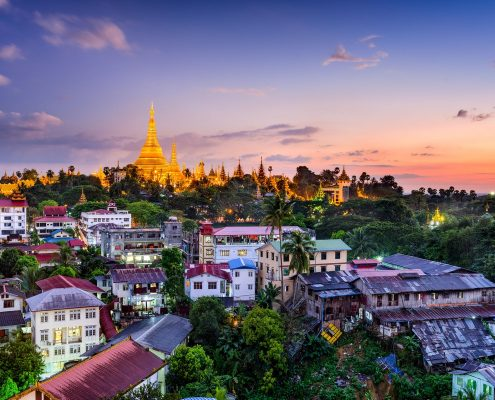 Yangon Private Jet Charter