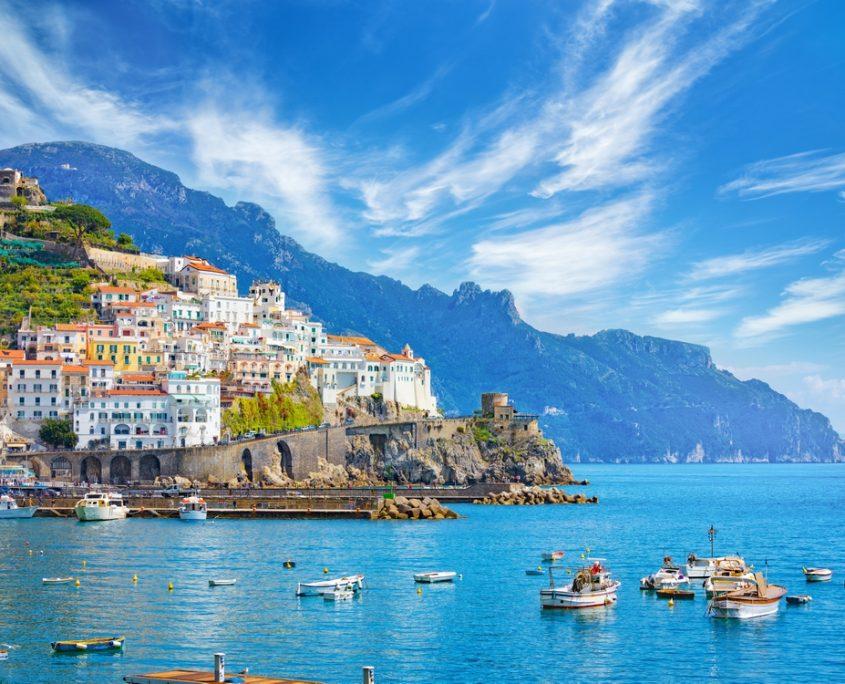 Amalfi Private Jet Charter