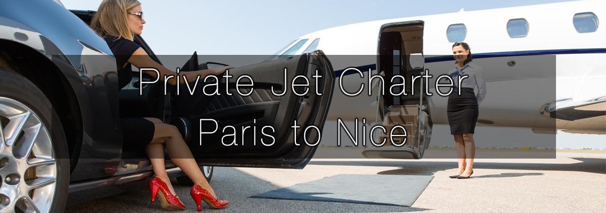 Private Jet Charter Paris to Nice