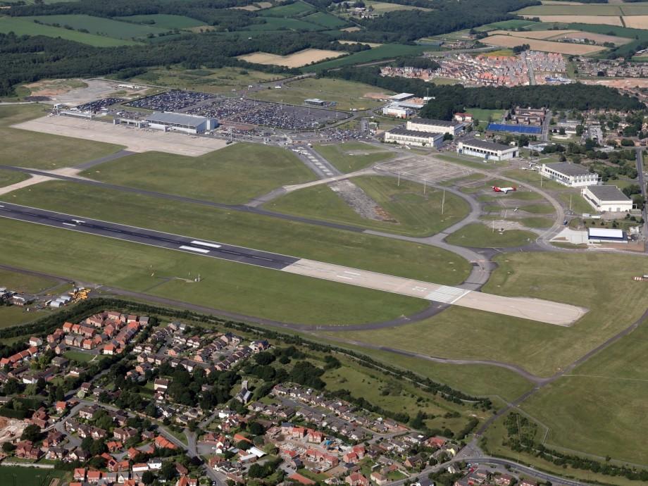 Doncaster Sheffield Airport (DSA, EGCN) Private Jet Charter