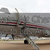 Private Jet Charter Tokyo to Los Angeles