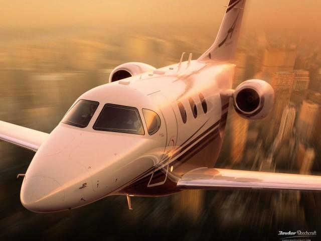 Private Jet Charter Beechcraft Premier 1