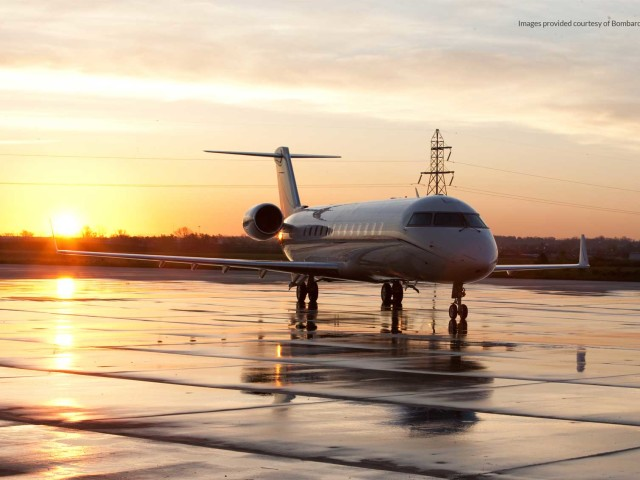 Private Jet Charter Challenger 850